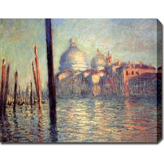 Claude Monet 'California Palace of the Legion of Honor' Oil on Canvas Art