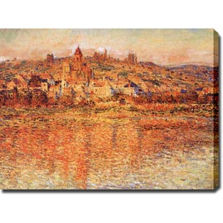 Claude Monet 'Vetheuil in Summertime' Gallery-wrapped Canvas Art