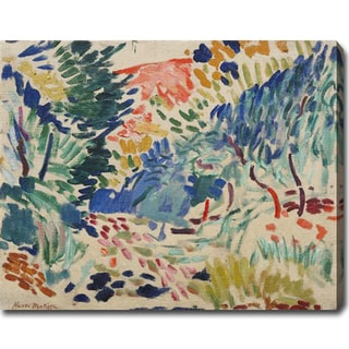 Henri Matisse 'Landscape at Collioure' Gallery-wrapped Canvas Art