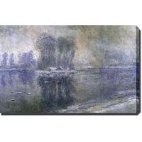 Claude Monet 'Untitled' Oil on Canvas Art