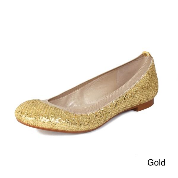 Andrew Stevens Women's Amira Glitter Flats