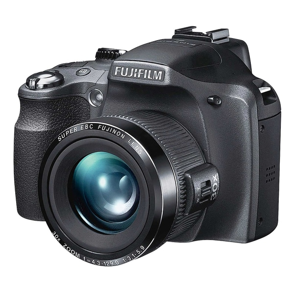Fujifilm Finepix SL280 14MP Black Digital Camera