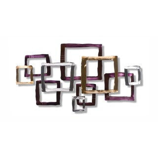 Iron Werks Crossing Over Wall Sculpture - Multi