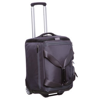 Piquadro 18 Inch Designer Carry On Wheeled Upright Duffel Bag With Tsa Lock Free Shipping Today 7585805