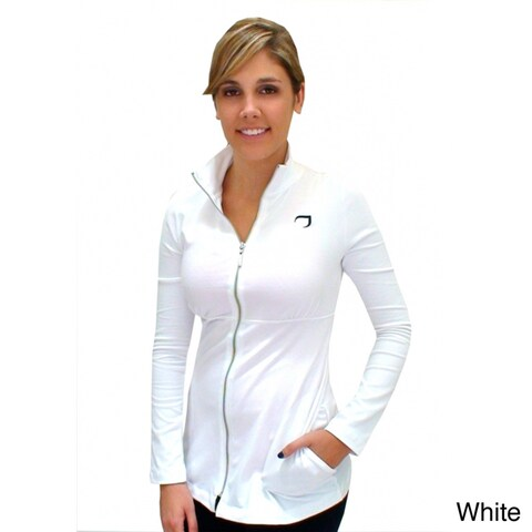 Women's Cotton Full-zip Track Jacket