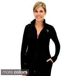 Women's Cotton Full-zip Track Jacket (3 options available)