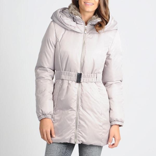 Ivanka Trump Women's Cloud Belted Puffer Coat