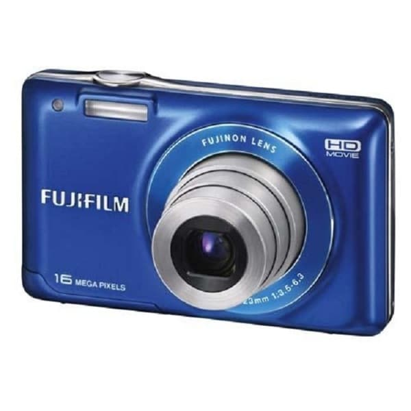 Fujifilm JV300 14MP Blue Digital Camera