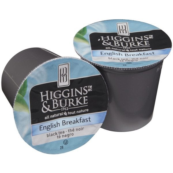Higgins & Burke Specialty Tea English Breakfast Real Cups