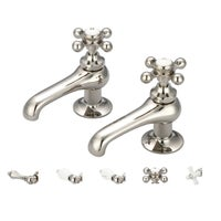 Shop Water Creation Vintage Classic Basin Beaks Lavatory Faucet in ...