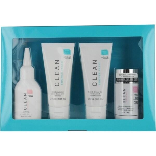 Dlish 'Clean Variety' Women's 4-piece Fragrance Set