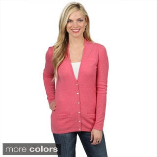 Shop Mendocino Women S Cashmere Cardigan Sweater Free