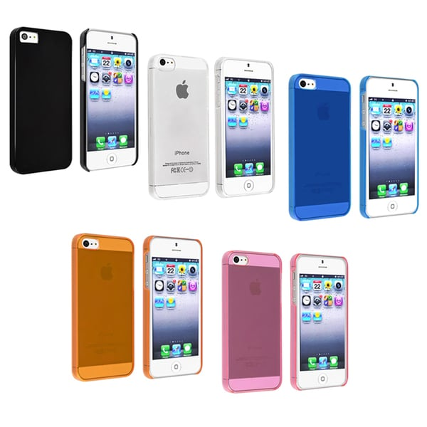 GeekManiac Snap-on Slim Case for Apple iPhone 5/ 5S