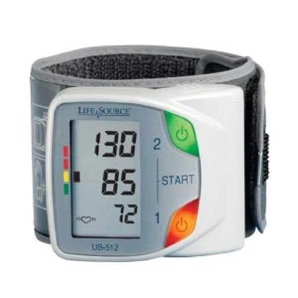 Life Source Advanced Memory Wrist Auto Inflate Blood Pressure Monitor