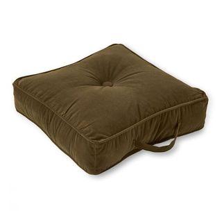Square Microfibre Sage 20-inch Floor Pillow