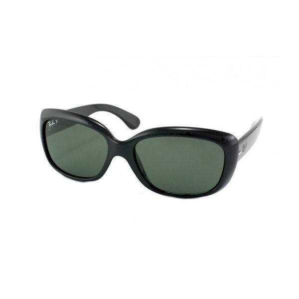 ray ban women's 'jackie ohh' black polarized sunglasses
