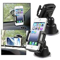 INSTEN Universal Suction Car Mount Phone Holder for Apple iPhone 4S/ 5S/ 6