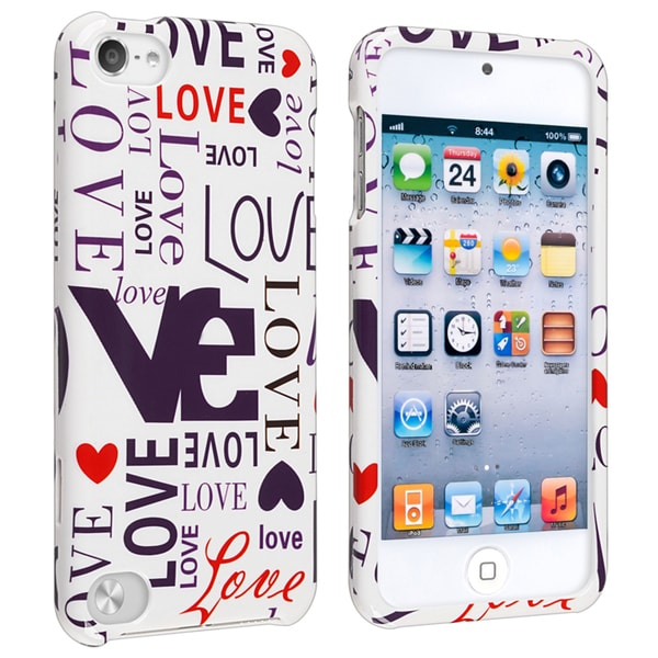 BasAcc Love Words Snap-on Case for Apple iPod Touch 5th Generation