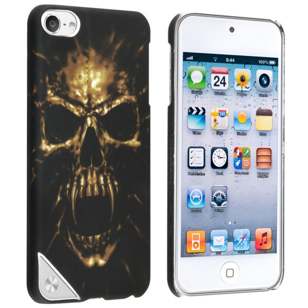 BasAcc Black Skull Case for Apple iPod Touch 5th Generation