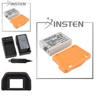 INSTEN Battery/ Charger Set/ Eyecup for Canon EOS 550D