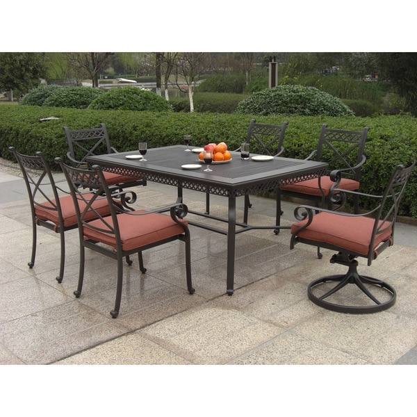 Santa Maria Outdoor 7 Piece Dining Set