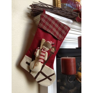 Little Guardian Snowman Christmas Stocking
