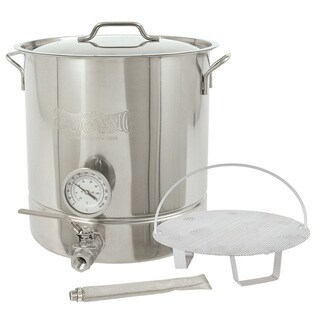 Bayou Classic 6-piece Home Brew Kettle Kit