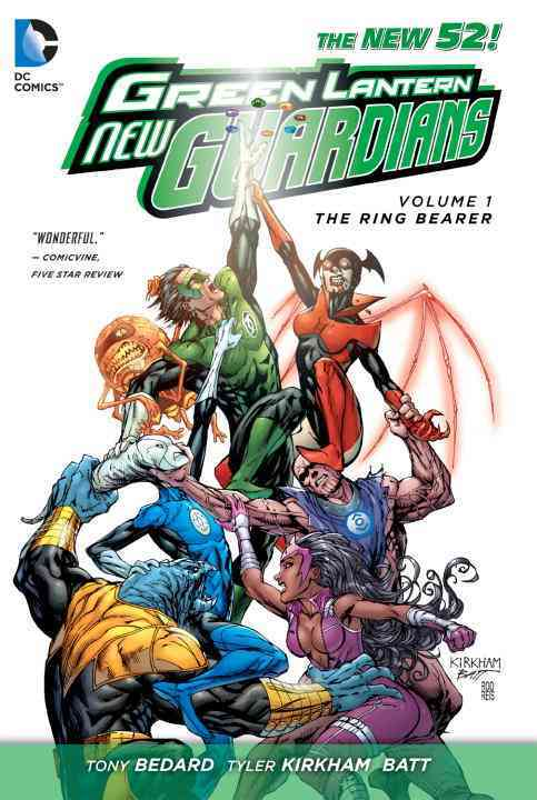 Green Lantern: New Guardians 1: The Ring Bearer (The New 52) (Paperback)