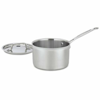MultiClad Pro Triple Ply Stainless 3-Quart Saucepan