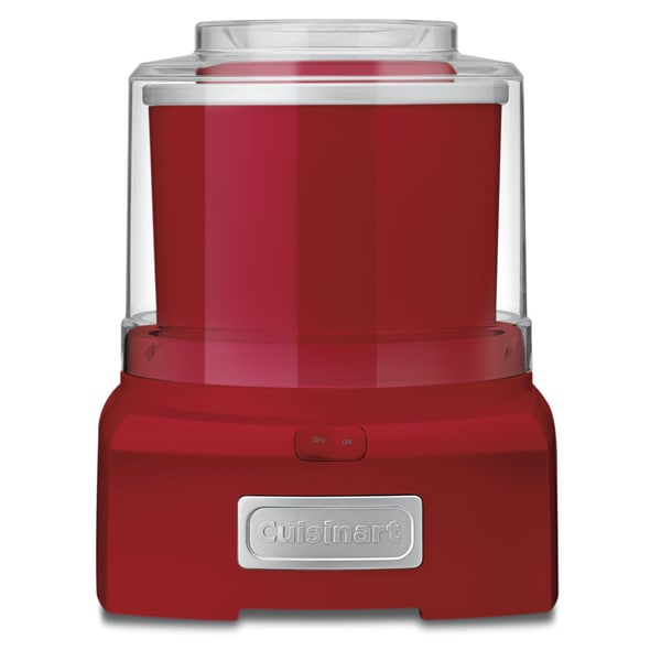 Cuisinart ICE-21R Red Frozen Yogurt, Ice Cream and Sorbet Maker