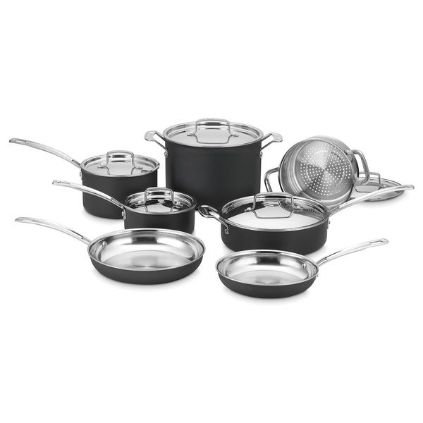 Cuisinart MultiClad Unlimited 12-piece Dishwasher Safe Cookware Set