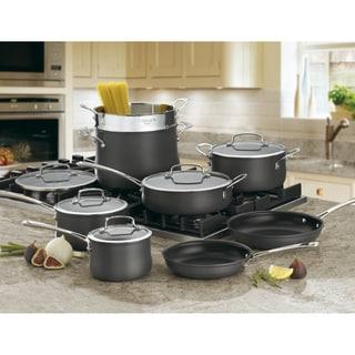 Cuisinart Contour 13-piece Hard Anodized Cookware Set