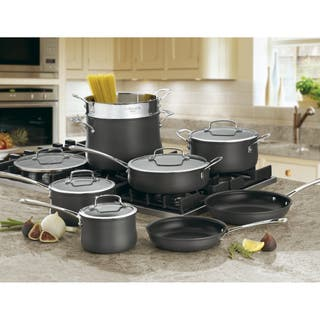 Cuisinart Contour Hard Anodized 13-Piece Cookware Set|https://ak1.ostkcdn.com/images/products/7587527/P15013607.jpg?impolicy=medium