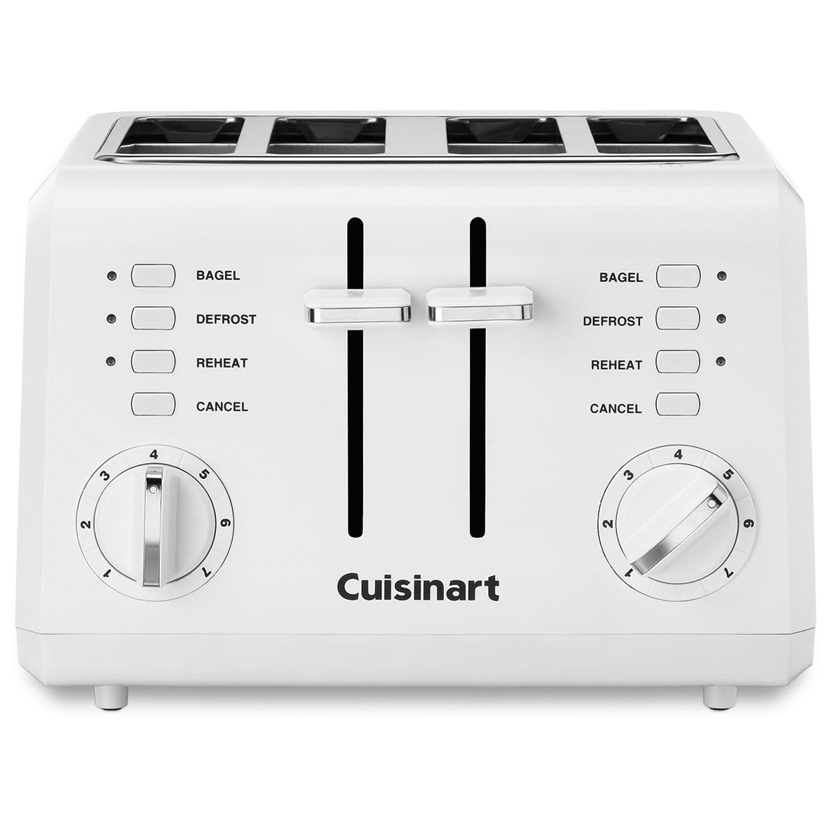 Cuisinart CPT-142 White 4-slice Compact Toaster (Slice Co...