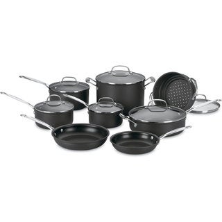 Cuisinart 66-14 Chef's Classic Nonstick Hard-Anodized 14-Piece Cookware Set