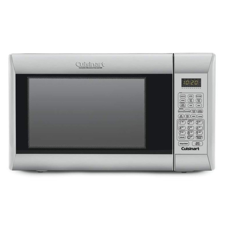 Cuisinart CMW-200 Microwave Oven, Grey, Size Compact (Metal)