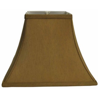 Gold Fabric Square Lampshade