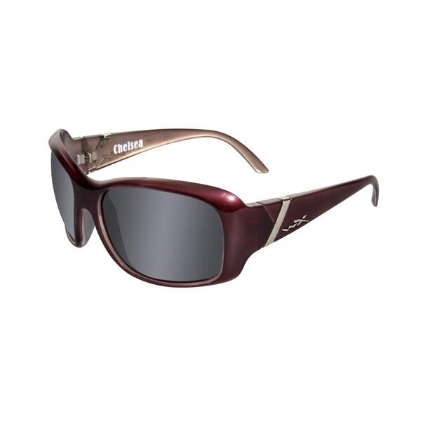 Willey X Chelsea Street Series Smoke Grey/ Liquid Plum Sunglasses
