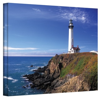 Kathy Yates 'Pigeon Point Lighthouse' Canvas Art
