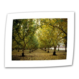 Kathy Yates 'Fall Orchard' Small Canvas Art - Multi