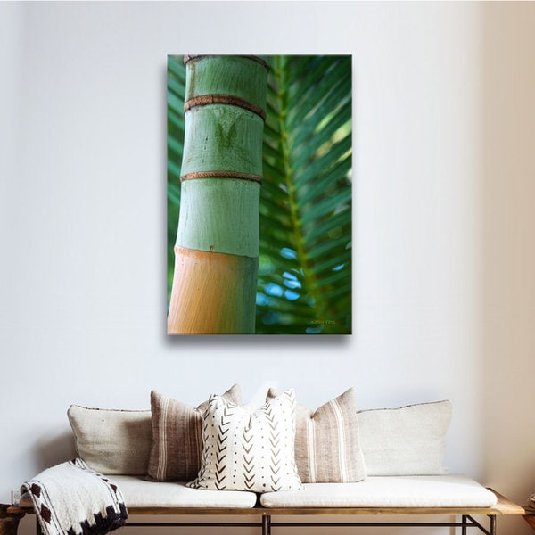 Kathy Yates 'Beautiful Anini Beach' Canvas Art