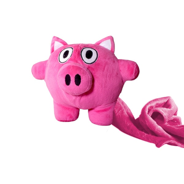 Playful Pig 7-inch Plush Toy with Blanket