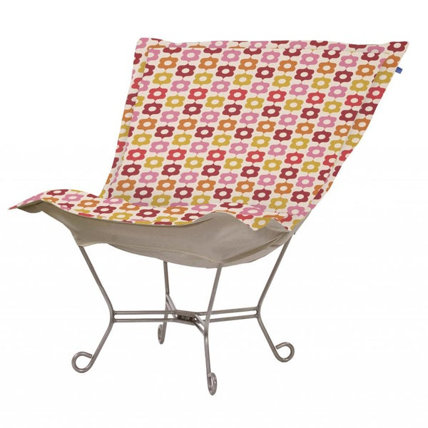 Shop Multi Colored Floral Print Heavenly Chair Free