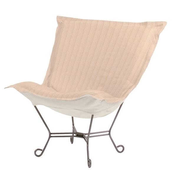Sand Crosshatch Heavenly Chair