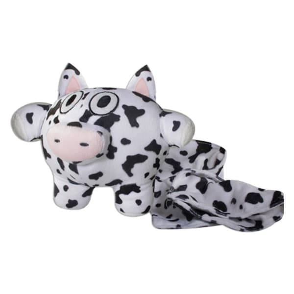 Strong Cow 7-inch Plush Toy with Blanket