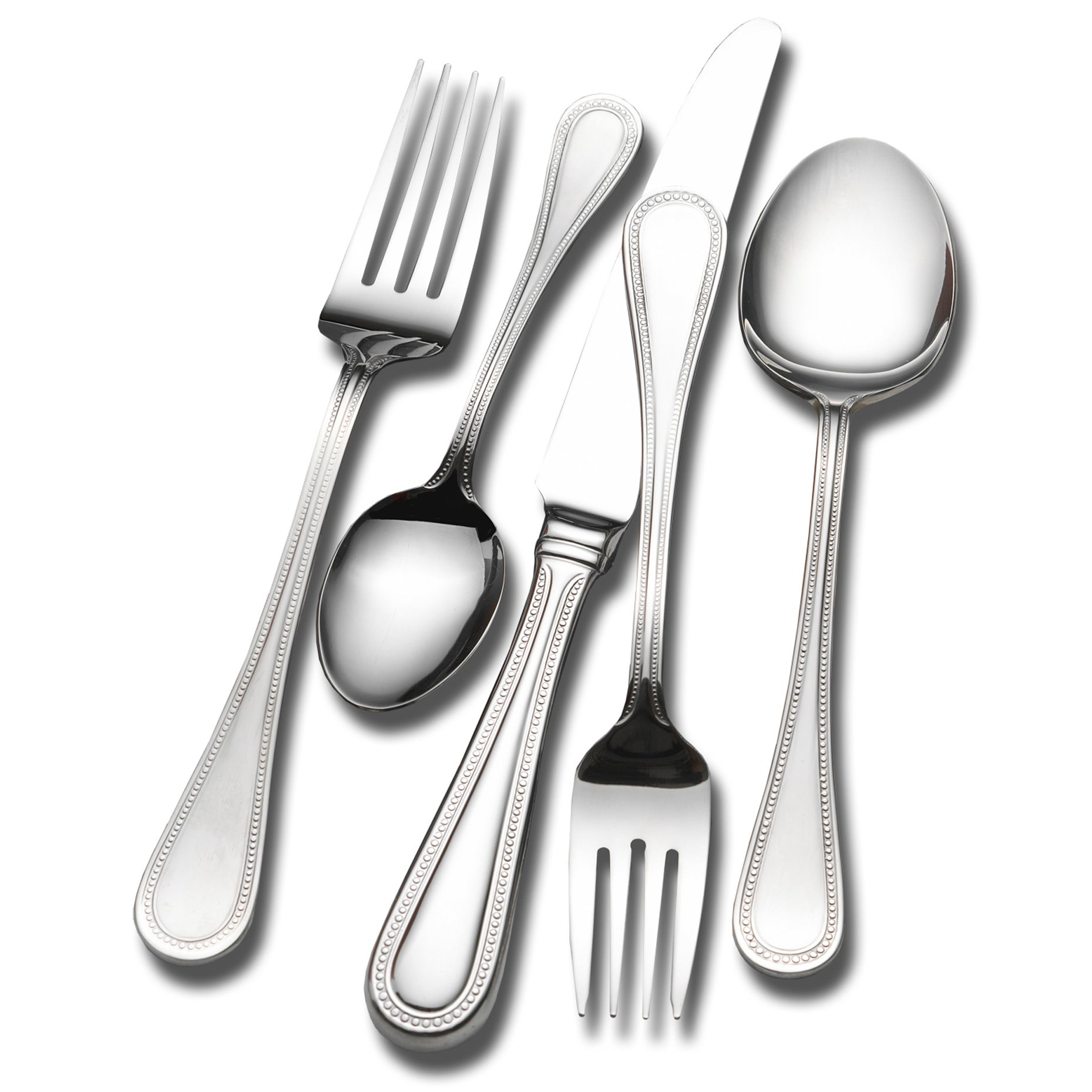 Wallace Home Continental Bead 78-piece Flatware Set, Silv...