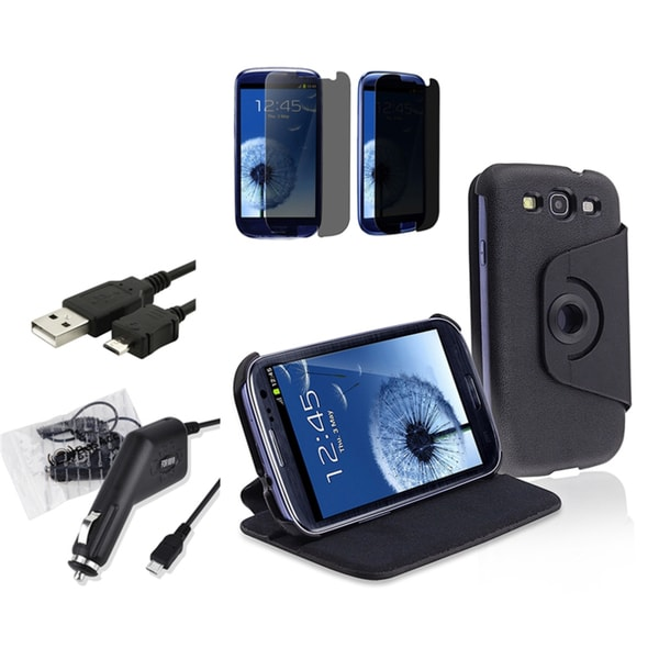INSTEN Phone Case Cover/ Protector/ Charger for Samsung Galaxy S III/ S3