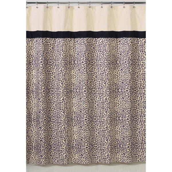 Sweet Jojo Design Safari Shower Curtain