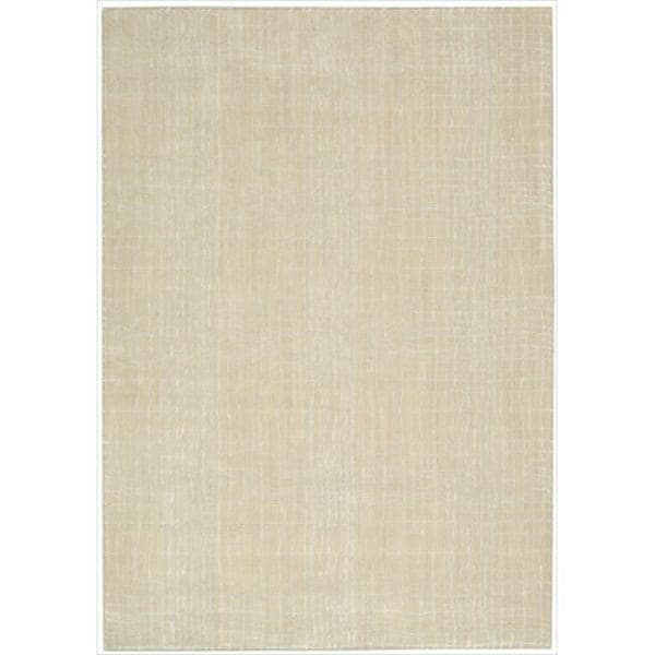 Nepal Curved Lines Manil Rug (5'3 x 7'5)
