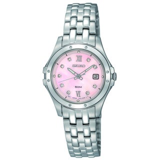 Seiko Women's SXDE21 Stainless Steel Le Grand Sport Watch